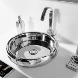 Lavabo de apoyo METAL RING