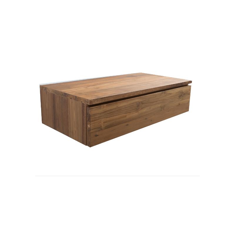 Mueble de ba o en madera teka - Mueble de bano madera ...