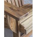 Sillón en madera de teka
