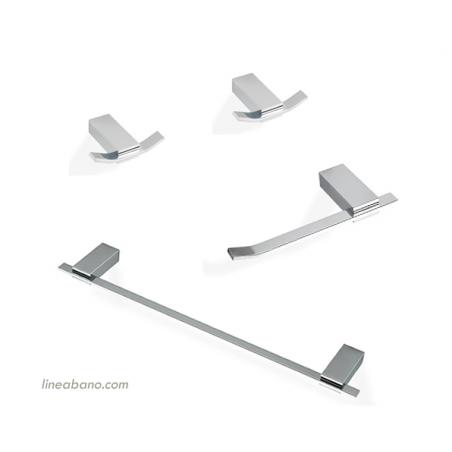 Set de accesorios de baño Gea