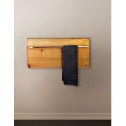 XILO 200 H toallero y panel calienta toallas en madera