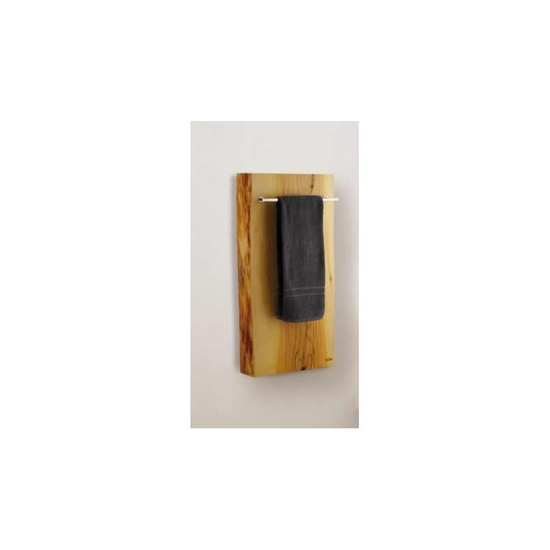 XILO 500 H toallero y panel calienta toallas en madera