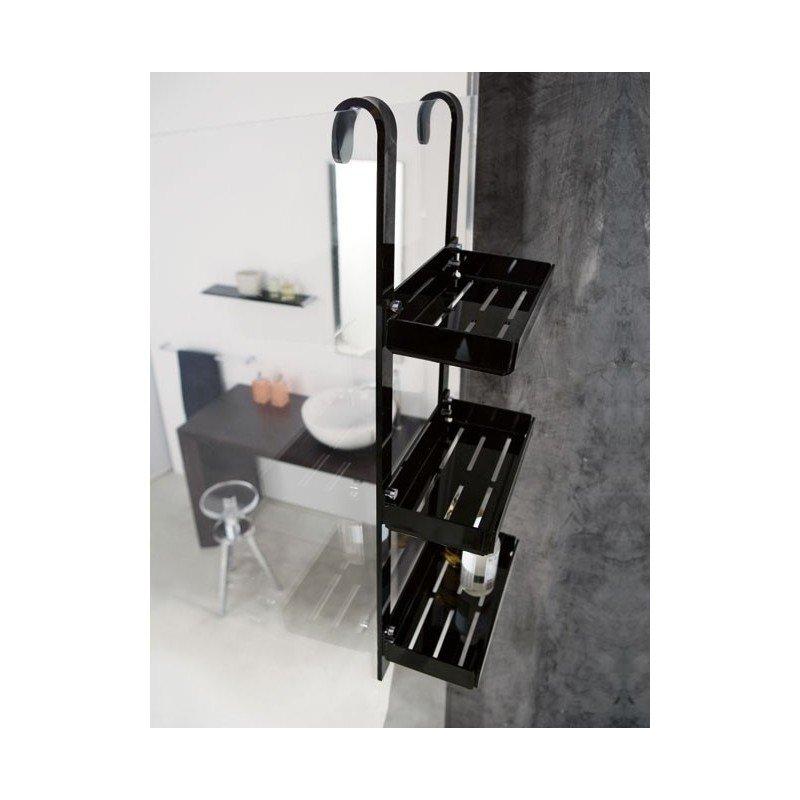 Repisa triple repisa para mampara doble repisa Repisas de bano homecenter