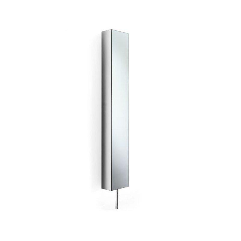 Mueble columna giratoria con espejo.