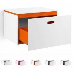 Mueble auxiliar para baño en mattstone