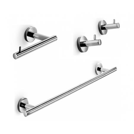 Set de accesorios de baño de diseño minimal