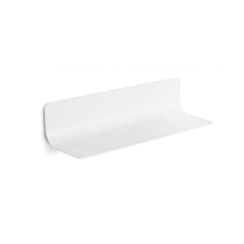 Estante ba o en blanco for Accesorios bano color blanco