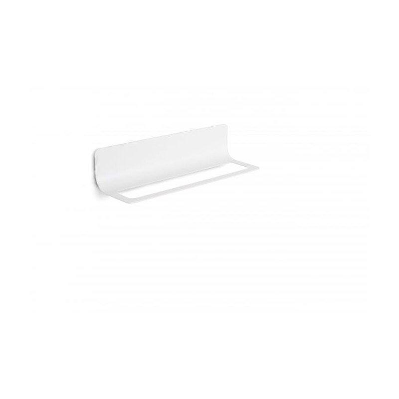 Toallero ba o en blanco for Accesorios bano color blanco