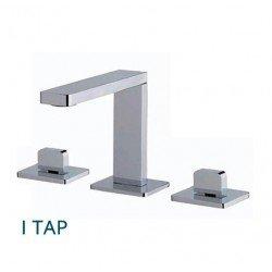 Griferia en bateria para lavabo 3 agujeros Itap Water Evolution