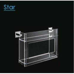 Estante baño doble Start 45 cm