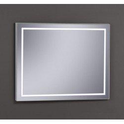 Elegante Espejo con luz LED de alta luminosidad de 100 x 80 cm.